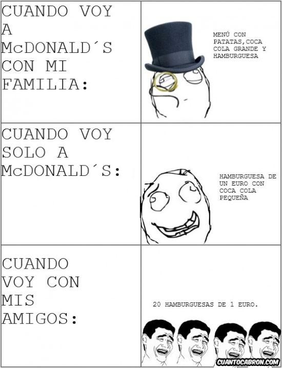 Mix - Cuando voy al McDonalds