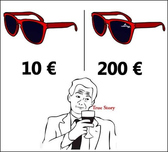 gafas,marca,rayban,true story