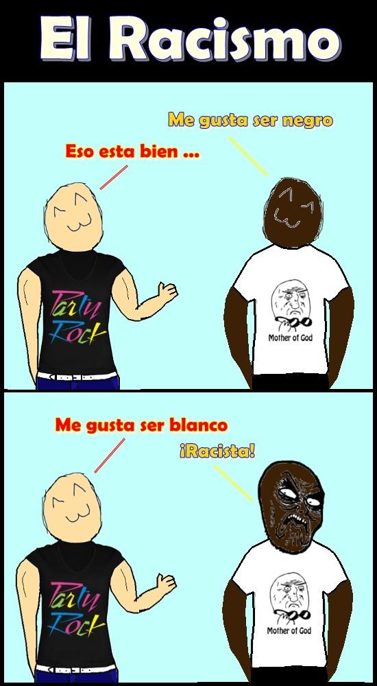 Infinito_desprecio - No hay quien entienda el racismo