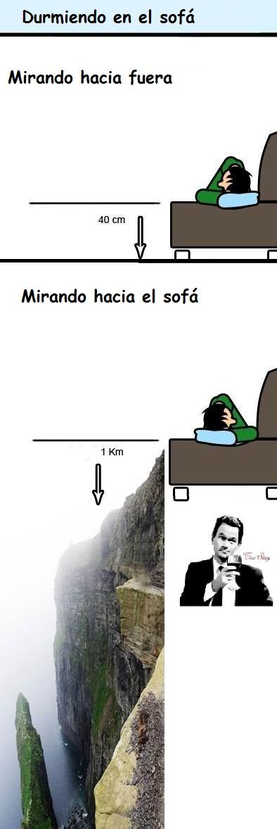 distancia,dormir,sofá,true story