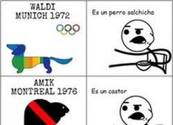 Enlace a Mascotas olímpicas