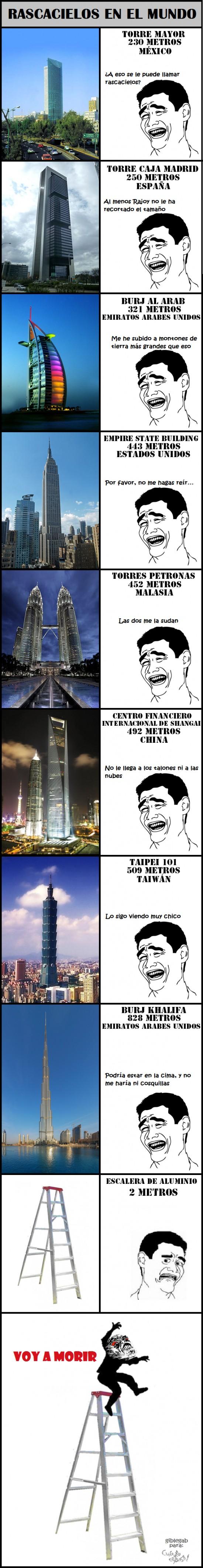 altura,Dubai,edificios,escalera,España,Estados Unidos,México,miedo,rascacielos,vértigo