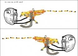 Enlace a Mierda de nerf, a recoger las balas
