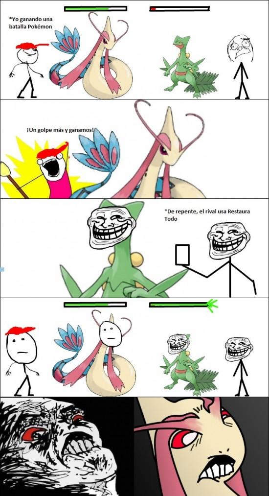 batalla,lucha,milotic,pokemon,sceptile,troll