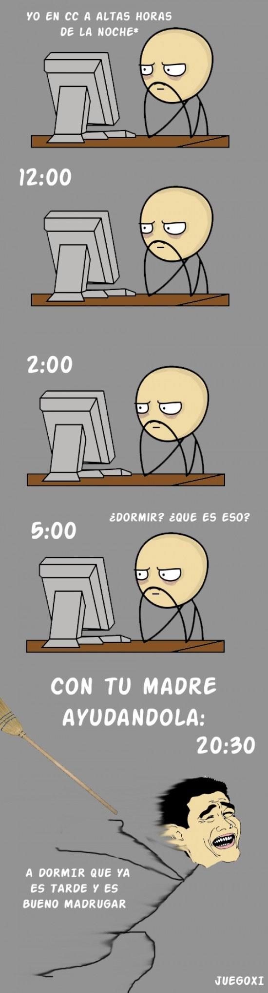 altas horas,ayudar,cc,computer guy,cuantocabron,dormir,madre,tarde,temprano,yao ming