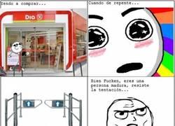 Enlace a La puerta del supermercado