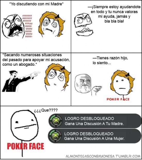 Pokerface - Logro Desbloqueado