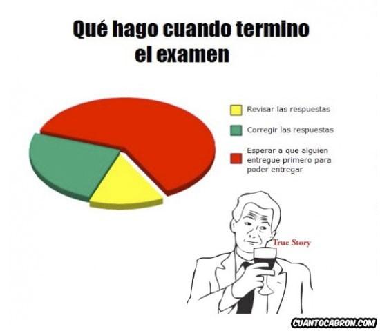 Otros - Cuando acabamos el examen