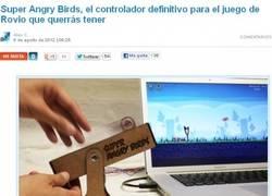 Enlace a Joystick Angry Birds