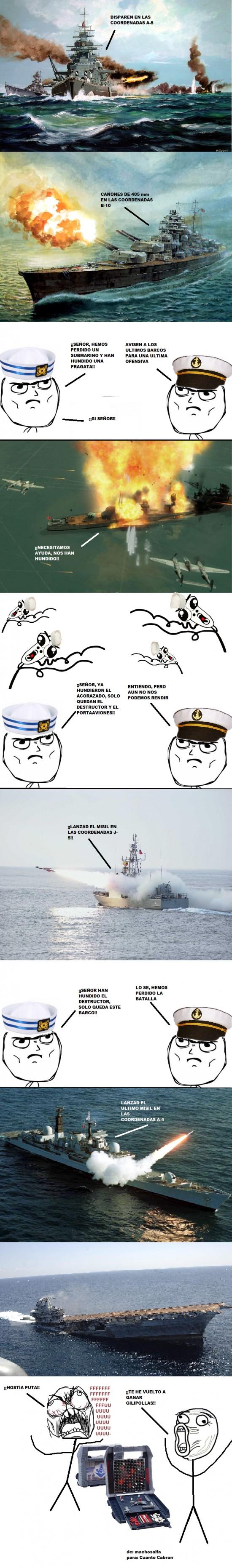 Ffffuuuuuuuuuu - Batalla naval