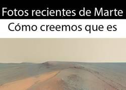 Enlace a Fotos de Marte