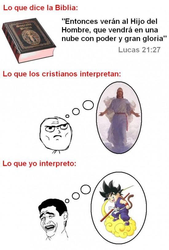 Yao - Diferentes modos de interpretar la Biblia