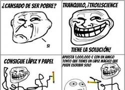 Enlace a Trollscience con lápices