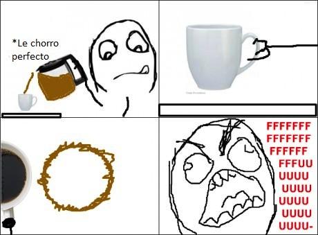 Cafe,marca,Rage Guy,Taza