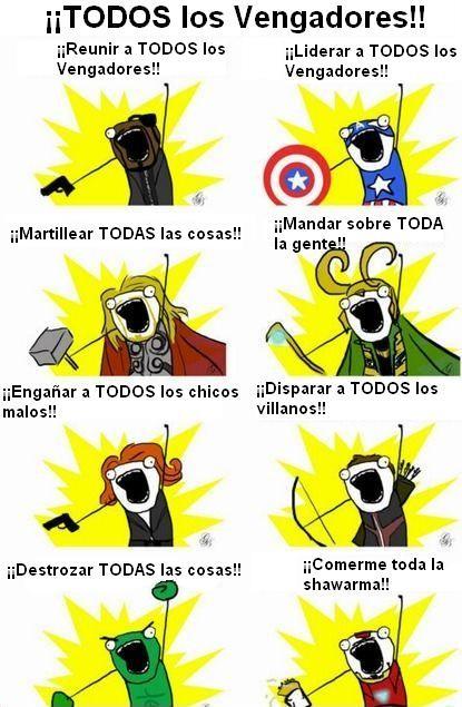 Otros - ¡¡TODOS los Vengadores!!