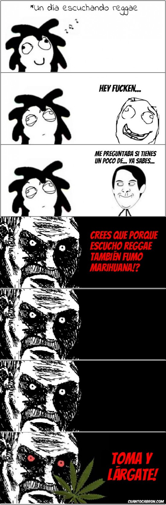 amigo,fuckencio,marihuana,mirada fija,música,rasta,reggae