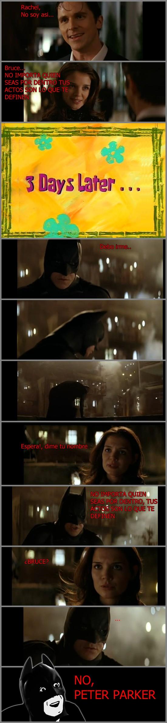 batman,no me digas,rachel