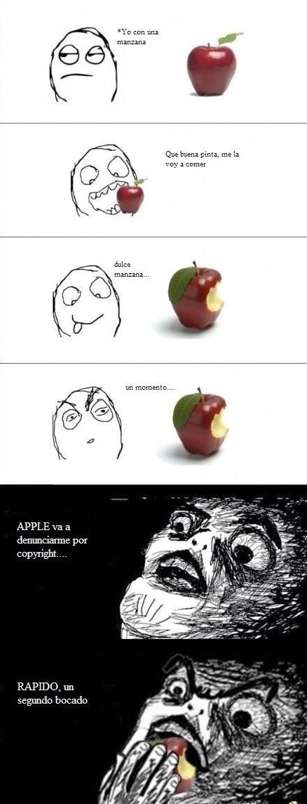 Inglip - Cuidado que Apple denuncia por todo