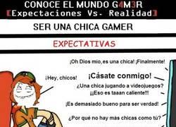 Enlace a Ser chica gamer
