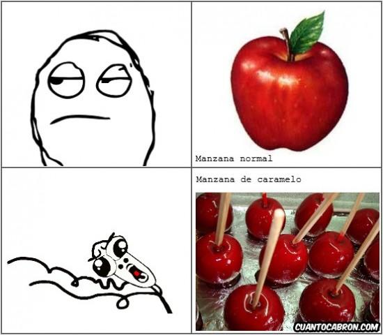 azucar,caramelo,manzana,omgrun,riquisimas