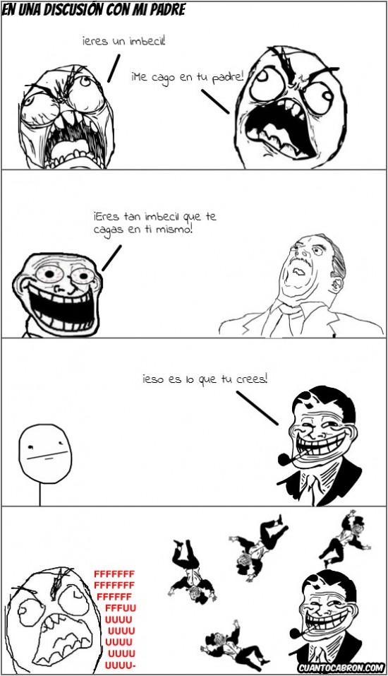 Trolldad - Nunca discutas con Trolldad
