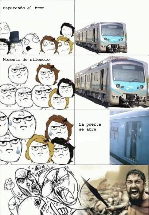 avalancha,estación,this is sparta,tren