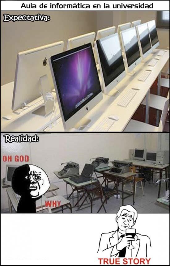 Otros - En el aula de informática