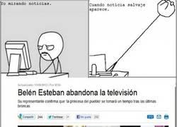 Enlace a Belén Esteban abandona la televisión