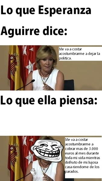 Trollface - Este gobierno español