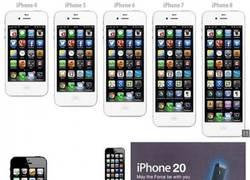 Enlace a Evolución del iPhone