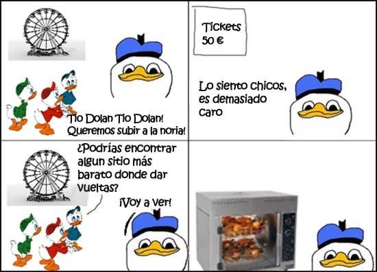dolan,microondas,noria,pollo
