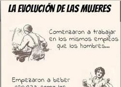Enlace a Evolución de las mujeres