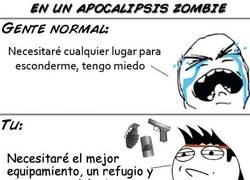 Enlace a En un apocalipsis zombie