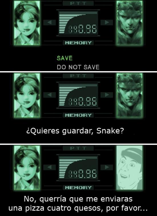 Metal Gear,No me digas,partida,videojuego
