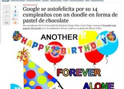Enlace a Google Forever Alone