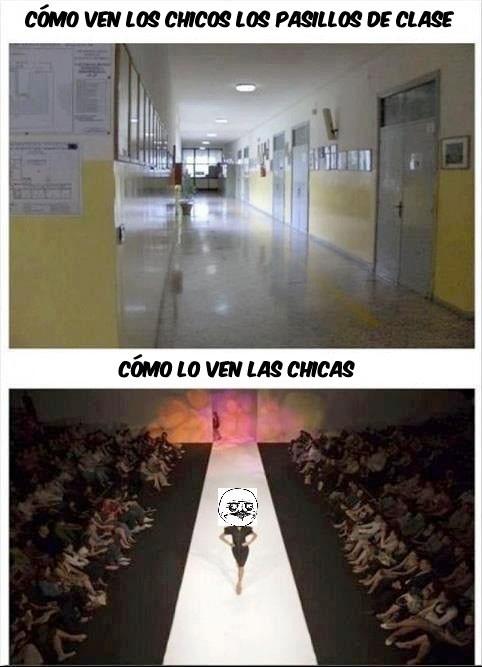 Me_gusta - Caminando por los pasillos