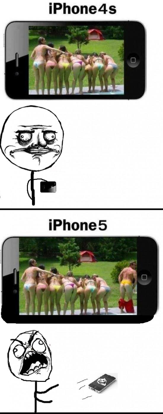 Ffffuuuuuuuuuu - Desventajas del Iphone 5