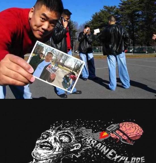 brain explode,foto,ilusión óptica,raisins