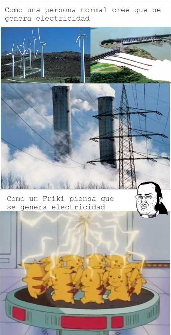Friki - Generacíon de electricidad