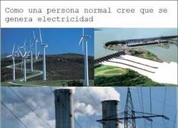 Enlace a Generacíon de electricidad