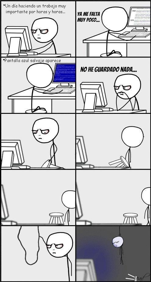 Computer_guy - Nunca te olvides de guardar...