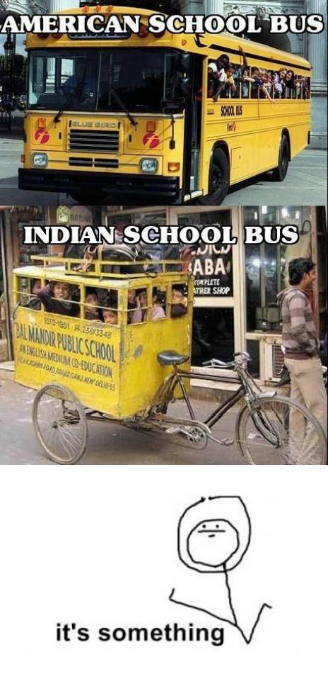 Its_something - Autobús escolar indio