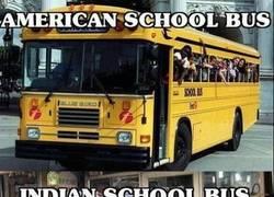 Enlace a Autobús escolar indio