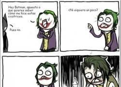 Enlace a Las cicatrices del Joker