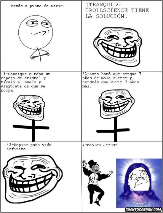 Trollface - Trollscience al poder