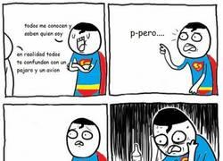 Enlace a Superman en depresión