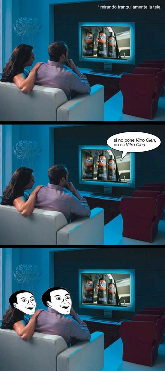 anuncio,publicidad,sofa,tele,tv,vitro clen