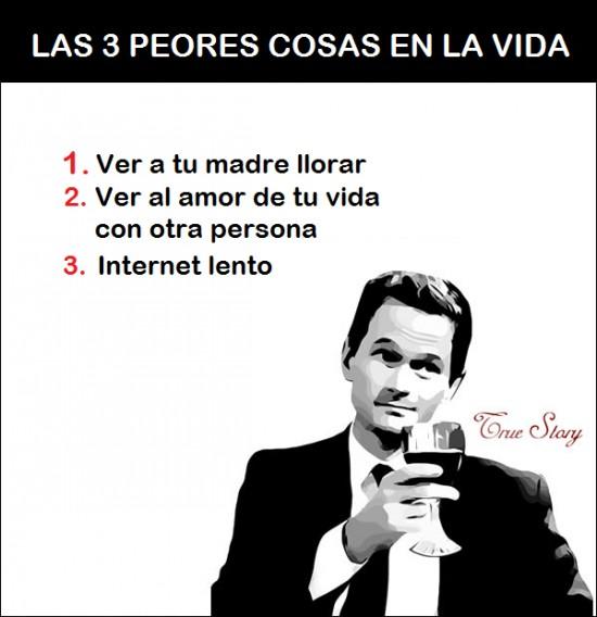 3,cosas,Internet,Llorar,Madre,peores,tres,True Story