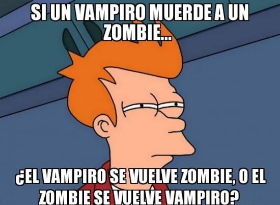 Fry - Vampiro o Zombie