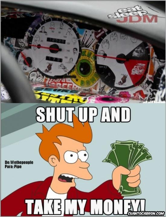 Fry - Memecuadro de mandos